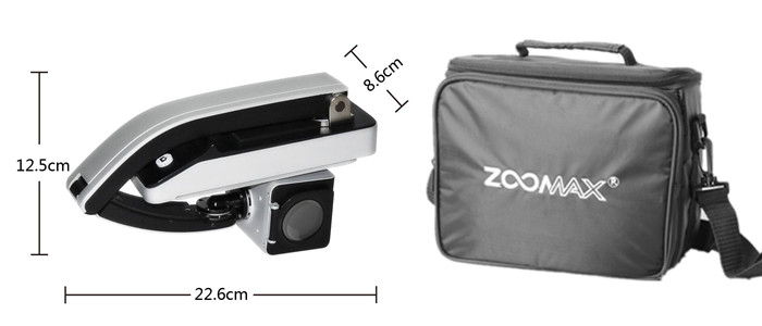 Zoomax portable video magnifier Mars HD lightest and foldable into small size